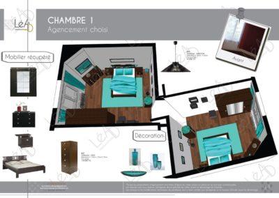 Lea-Interiors-Design-Bergerac_Conseils-pour-achat-Extrait-book-Chambre-principale-turquoise-wenge-projet