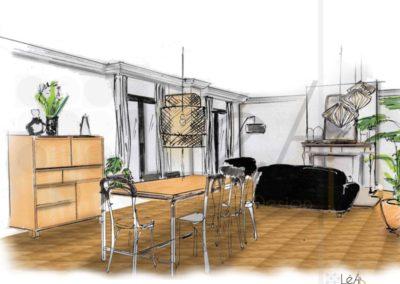 Léa Architecture Décoration Intérieur Bergerac_Coaching Déco - Pièce à vivre