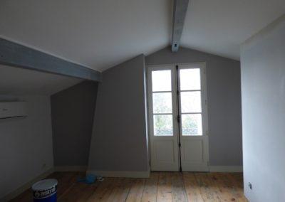 Léa Architecture Décoration Intérieur Bergerac_Espaces professionnels - Chambres hôtes - Chambre 1 avant