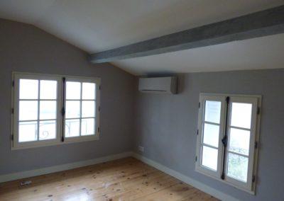 Léa Architecture Décoration Intérieur Bergerac_Espaces professionnels - Chambres hôtes - Chambre 3 avant 2