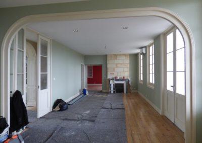 Léa Architecture Décoration Intérieur Bergerac_Espaces professionnels - Chambres hôtes - Salon avant