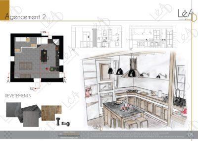 Léa Architecture Décoration Intérieur Bergerac_Relooking Cuisine - Agencement 2