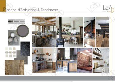 Léa Architecture Décoration Intérieur Bergerac_Relooking Cuisine - Planche Ambiance et Tendances