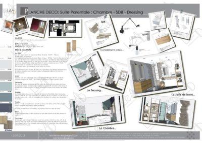 Léa Architecture Décoration Intérieur Bergerac_Coaching Déco - Planche Déco - Chambre-SDB-Dressing