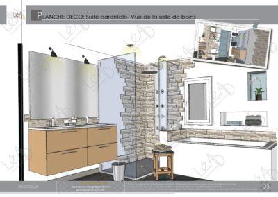 Léa Architecture Décoration Intérieur Bergerac_Coaching Déco - Planche Déco - Chambre-SDB-Dressing - vue 2
