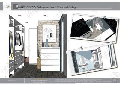 Léa Architecture Décoration Intérieur Bergerac_Coaching Déco - Planche Déco - Chambre-SDB-Dressing - vue 3