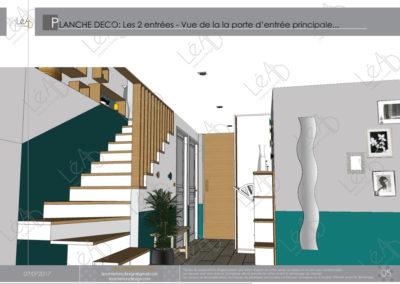 Léa Architecture Décoration Intérieur Bergerac_Coaching Déco - Planche Déco - Entrée 1