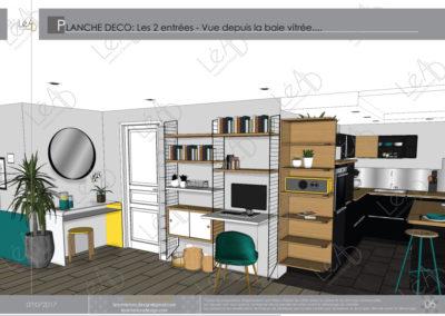 Léa Architecture Décoration Intérieur Bergerac_Coaching Déco - Planche Déco - Entrée 2