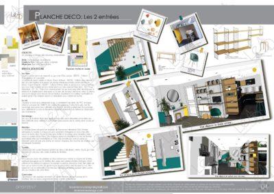 Léa Architecture Décoration Intérieur Bergerac_Coaching Déco - Planche Déco - Entrée