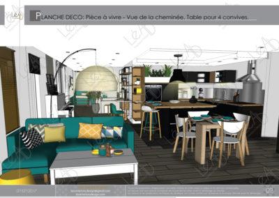 Léa Architecture Décoration Intérieur Bergerac_Coaching Déco - Planche Déco - Pièce à vivre 1