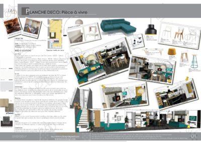 Léa Architecture Décoration Intérieur Bergerac_Coaching Déco - Planche Déco - Pièce à vivre