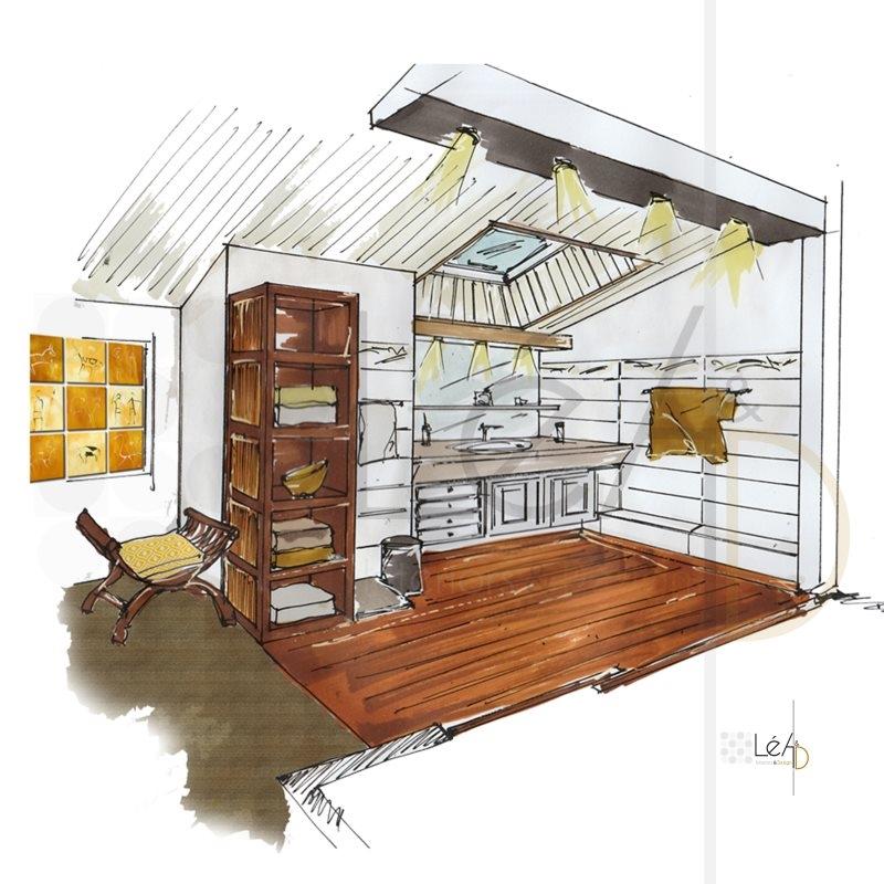Lea-Interiors-Design-Bergerac_Accompagnement-shopping-Chambre-parentale-cabinet-toilettes