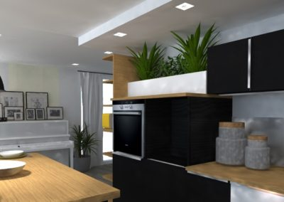 Lea-Interiors-Design-Bergerac_Amenagement-&-Decoration-interieur-3D-cuisine-noir-bois-clair
