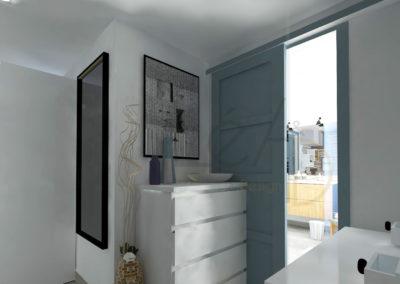 Lea-Interiors-Design-Bergerac_Amenagement-&-Decoration-interieur-3D-Dressing-blanc-bleu-acier-5