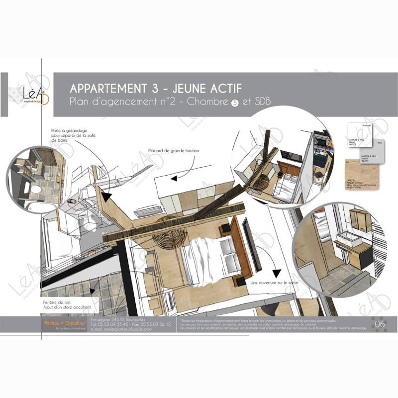Lea-Interiors-Design-Bergerac_Agencement-studio-pour-location-Extrait-book-chambre