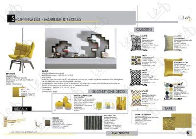 Lea-Interiors-Design-Bergerac_Amenagement-&-Decoration-Interieur-Appart-tout-en-longueur-Chambre-ado-noir-jaune-gris-Shopping-list-2