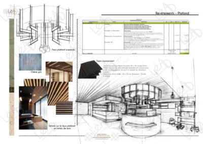 Lea-Interiors-Design-Bergerac_Espaces-professionnels-Boutique-BIO-Plafond-lattes-bois