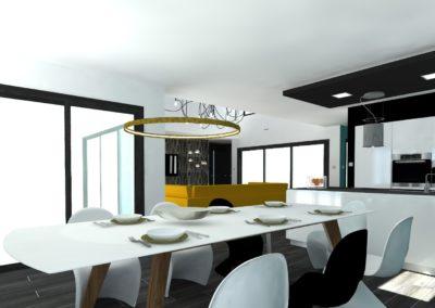 Léa Architecture Décoration Intérieur Bergerac_SAM- Cuisine - Design