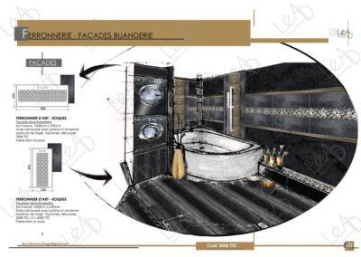 Lea-Interiors-Design-Bergerac_Amenagement-&-Decoration-Interieur-Appart-tout-en-longueur-SDB-ferronnerie-noir-or