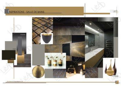 Lea-Interiors-Design-Bergerac_Amenagement-&-Decoration-Interieur-Appart-tout-en-longueur-SDB-Planche-Inspirations-Sophistiquee-Noir-or