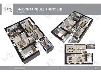Lea-Interiors-Design-Bergerac_Amenagement une maison de famille en Bretagne - Agencement