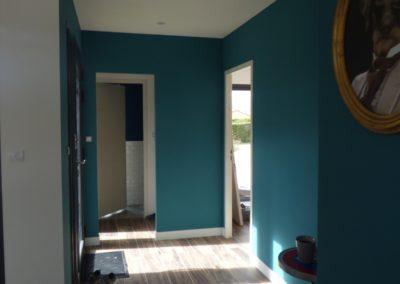 Lea-Architecture-Decoration-Interieur-Bergerac_Entrée bleu canard - avant