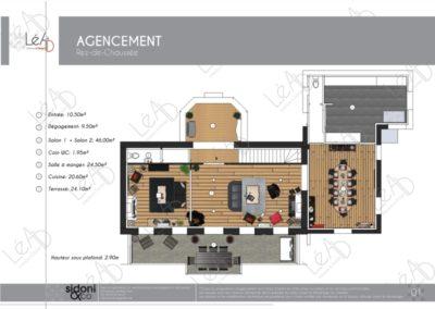 Lea-Interiors-Design-Bergerac_Espaces-professionnels-Chambre-hote-croquis-Extrait-Book-Plan-amenagement