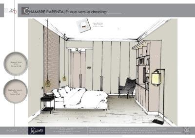 Léa Architecture Décoration Intérieur Bergerac_Agencement & Décoration - Chambre tons de beige - classique - Book 2