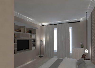 Léa Architecture Décoration Intérieur Bergerac_Agencement & Décoration - Chambre tons de beige - classique - bibliotheque