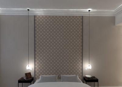Léa Architecture Décoration Intérieur Bergerac_Agencement & Décoration - Chambre tons de beige - classique - tête de lit tout hauteur