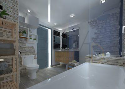 Lea-Interiors-Design-Bergerac_Amenagement-&-Decoration-interieur-3D-salle-de-bains-blanc-bleu-acier