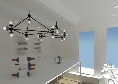 Léa Architecture Décoration Intérieur Bergerac_Espaces Professionnels - Salle de dégutation 4